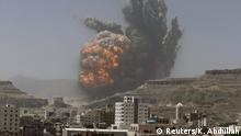 Jemen Luftangriff auf Sanaa