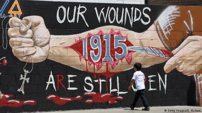 USA Graffiti Armenien Völkermord