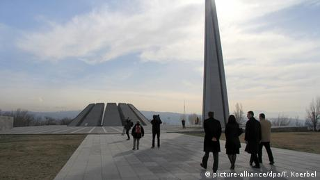 Armenien Völkermord Gedenkstätte in Eriwan