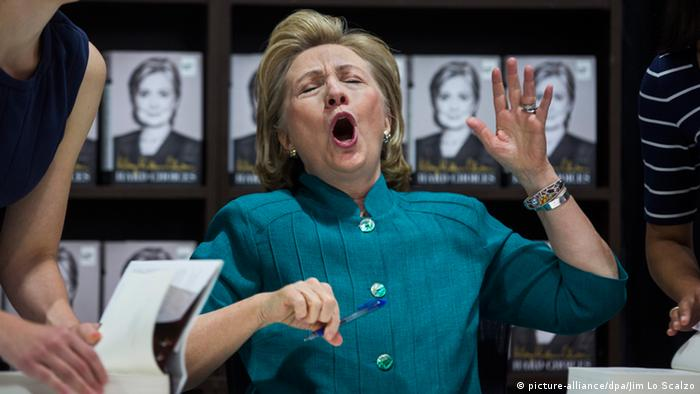 Bildergalerie Hillary Clinton (picture-alliance/dpa/Jim Lo Scalzo)
