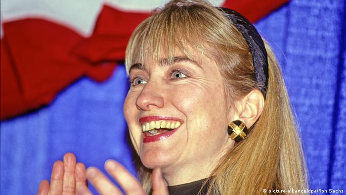 Hillary Clinton in 1992
