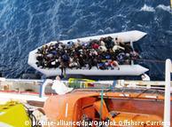 Silom spasitelji na Sredozemnom moru