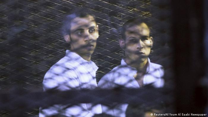 Ägypten Muslimbrüder zum Tode verurteilt (Reuters/Al Youm Al Saabi Newspaper)