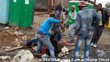 Südafrika - Gewalt gegen Einwanderer