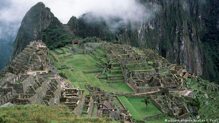 Peru Inkastadt Machu Picchu
