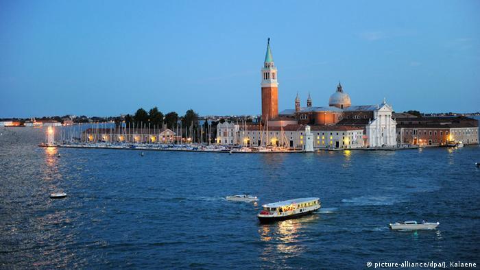 El laberinto se ubica en la isla de San Giorgio, en Venecia