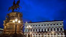 St. Petersburg Blaue Stunde