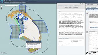 Photo: Screenshot Blue Halo Berbuda (Source: Center for Marine Assessment and Planning)