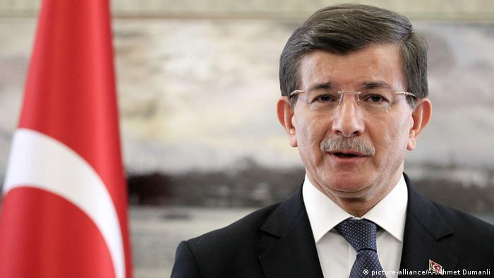Глава кабинета министров Ахмет Давутоглу