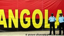 Polizisten Angola Afrika