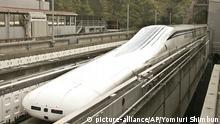 Japan Zug Magnet Maglev Hochgeschwindigkeitszug
