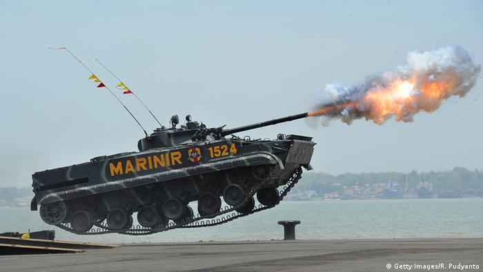 Indonesien Marine Panzer