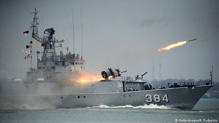 Indonesien Militärübung