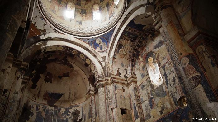 Frescoes in the Church of Saint Gregory