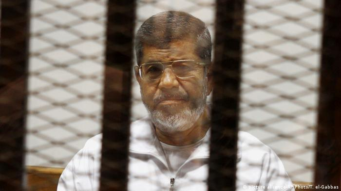 Ägypten Mursi Urteil (picture alliance/AP Photo/T. el-Gabbas)
