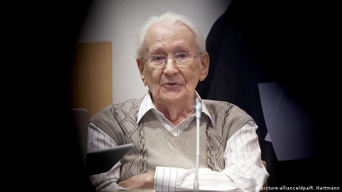 Deutschland Oskar Gröning Prozess in Lüneburg