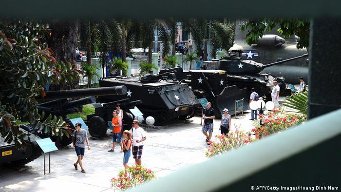 Bildergalerie Vietnam Kriegsmuseum Ho Chi Min-Stadt