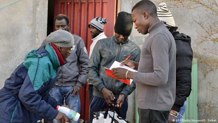 Frankreich Asylbewerber