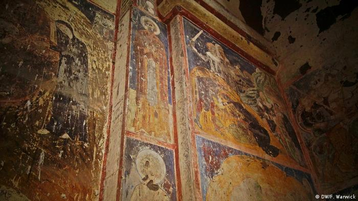 Frescoes in the Church of Saint Gregory of Tigran Honents