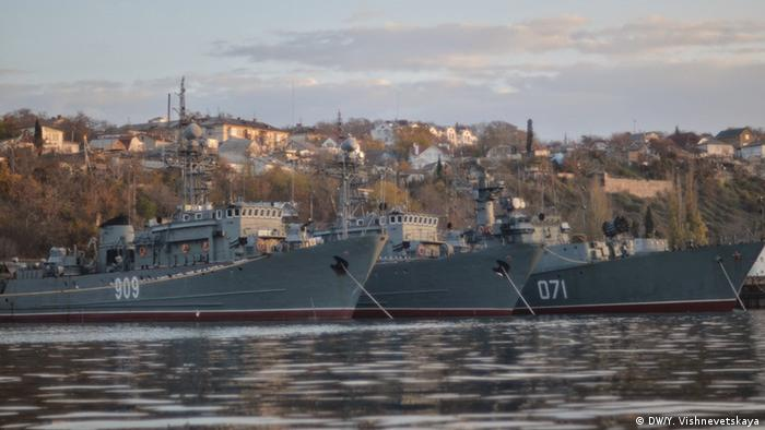 Росія захопила частину кораблів ВМС України, які базувалися в Криму