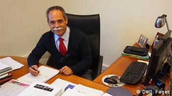 Manuel Cardoso vom Suchtinstitut SICAD (Foto: DW/Jochen Faget)