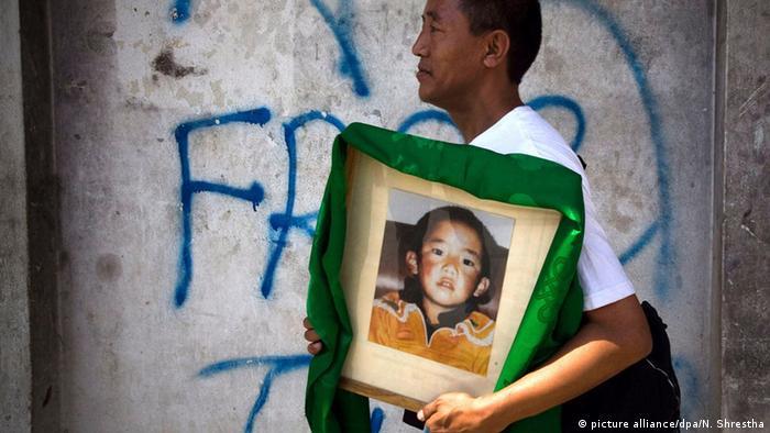 Panchen Lama, Gedhun Choekyi Nyima, yang diculik Cina sejak 25 tahun lalu.