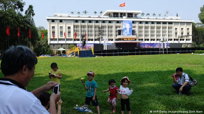 Бывший дворец президента Южного Вьетнама