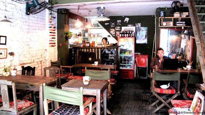 Кафе Cong Caphee в Ханое