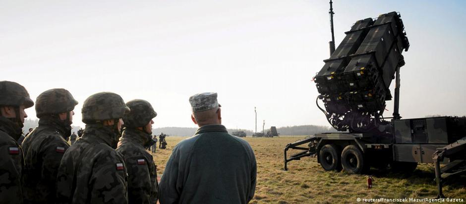 Sistema antimísseis Patriot, da americana Raytheon