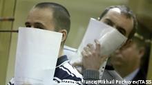 Moskau Prozess gegen BORN Mitglieder