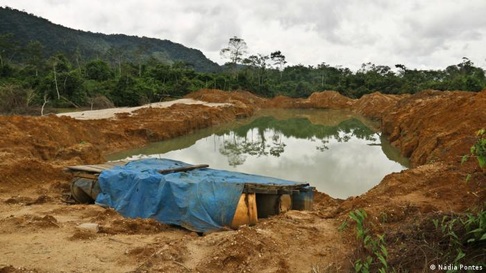 Garimpo ilegal na terra indígena Kayapó
