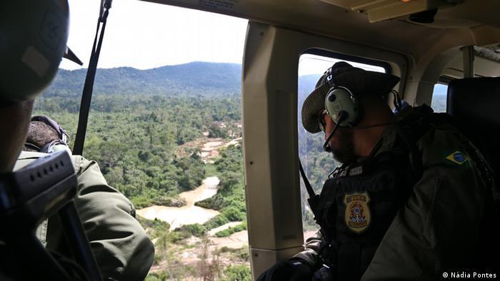 Operation im Land der Kayapo Indianer Brasilien