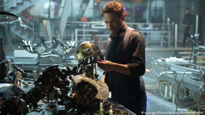 Robert Downey Jr. as Iron Man in The Avengers, picture alliance/dpa/Jay Maidment/Marvel