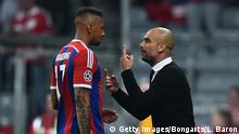 Jerome Boateng und Pep Guardiola