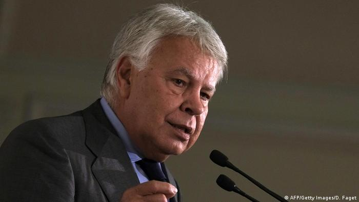 Ex-Präsident von Spanien Felipe González