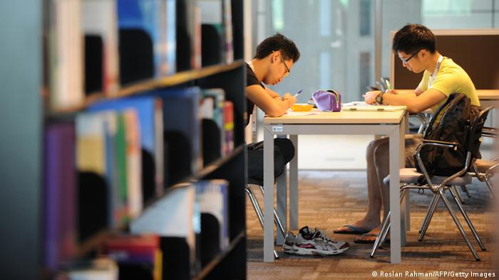 Malaysia Newcastle University's medical school in Nusajaya (Roslan Rahman/AFP/Getty Images)