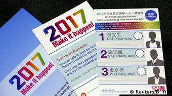 Hong Kong Wahlgesetz Reform