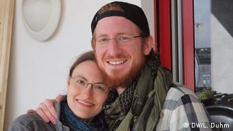 Jonas Schiffmann and Veronika Schrieder (Photo: Lisa Duhm)