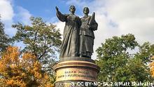 Denkmal für die Einigkeit zwischen der Ukraine und Russland in Pereiaslav-Khmelnytskyi
