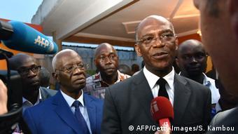 Mamadou Koulibaly, Vorsitzender der Partei Liberté et démocratie pour la République Elfenbeinküste (AFP/Getty Images/S. Kambou)