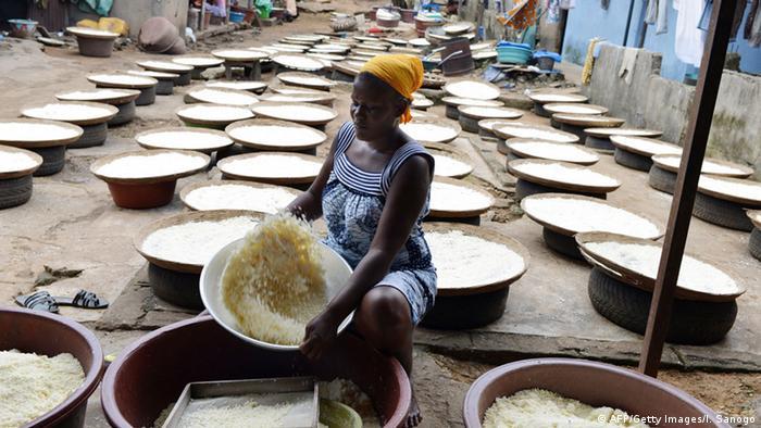L'attiéké est un plat très prisé en Côte d'Ivoire