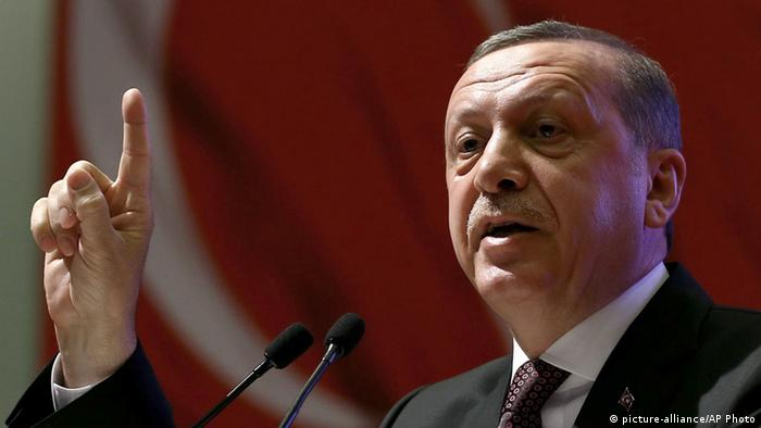 Recep Tayyip Erdogan Präsident Türkei Rede