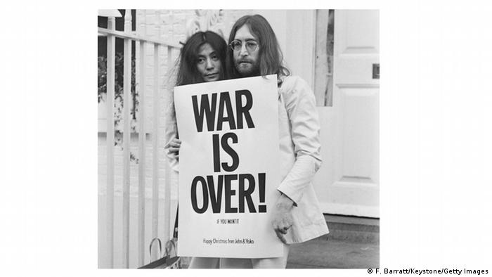 Bildergalerie Vietnam War is Over John Lennon Yoko Ono