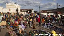 Straßenszene in Harar, Äthiopien