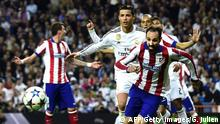 Fußball Champions League Real Madrid Atletico Madrid