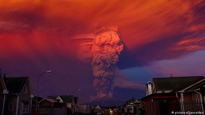 Chile: Ausbruch des Vulkans Calbuco