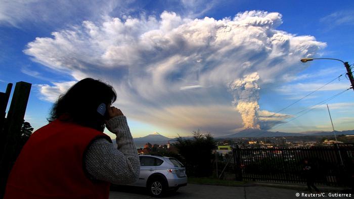 Chile Ausbruch des Vulkans Calbuco