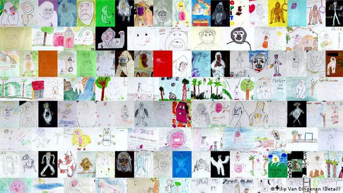 Ausstellung Ape Culture / Kultur der Affen im Haus der Kulturen der Welt AUSSCHNITT