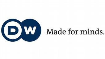 DW-Logo mit Claim