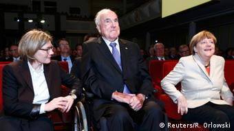Deutschland BASF 150 Jahre Merkel und Kohl